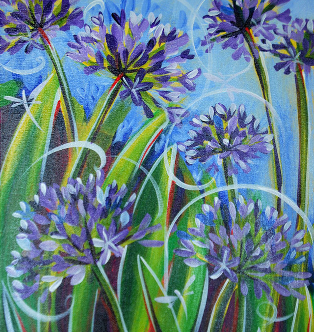 Agapanthus are go!