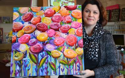 Art helps friend in need