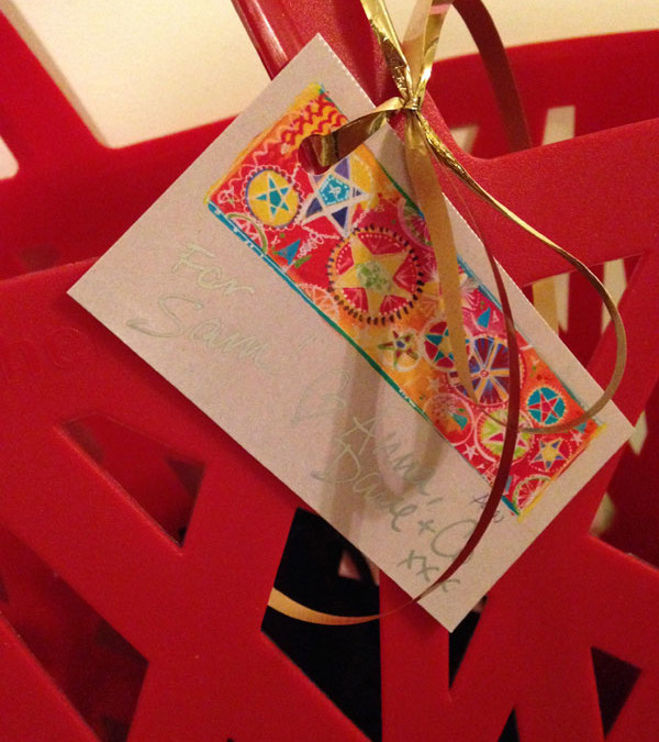 Freebie gift tags