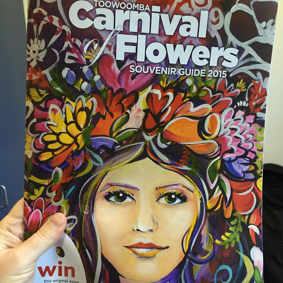 Carnival of Flowers Souvenir Guide 2015