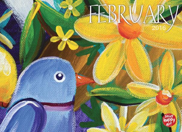Here's February