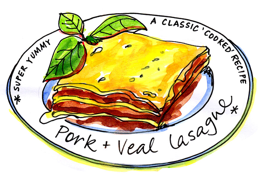 Classic 'Cooked' Lasagne – Illustrated Recipe