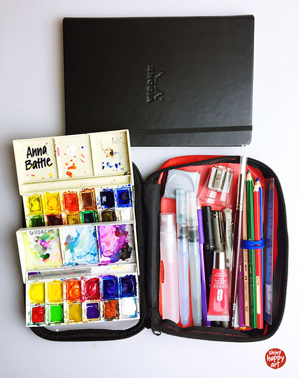 My travel art kit