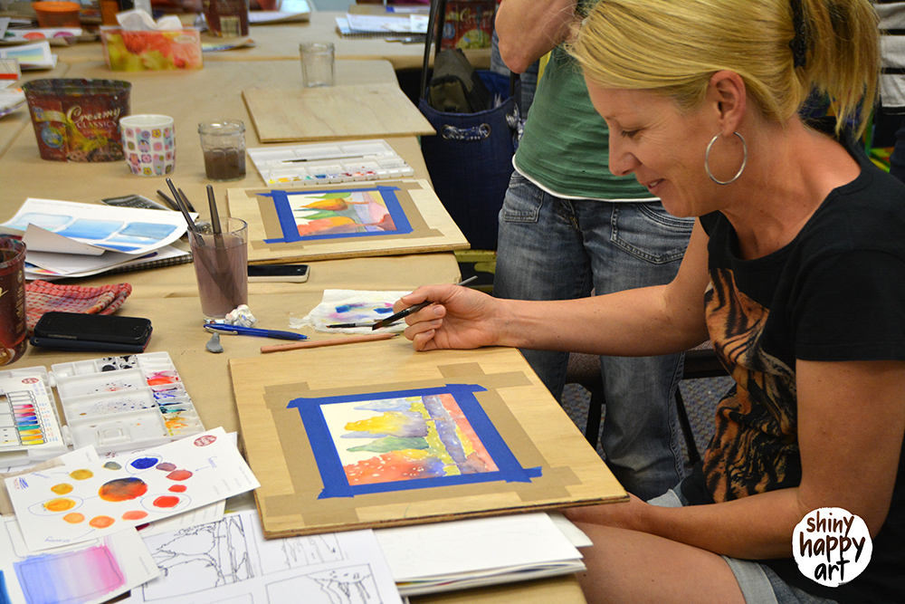 Watercolour Wonder Workshop