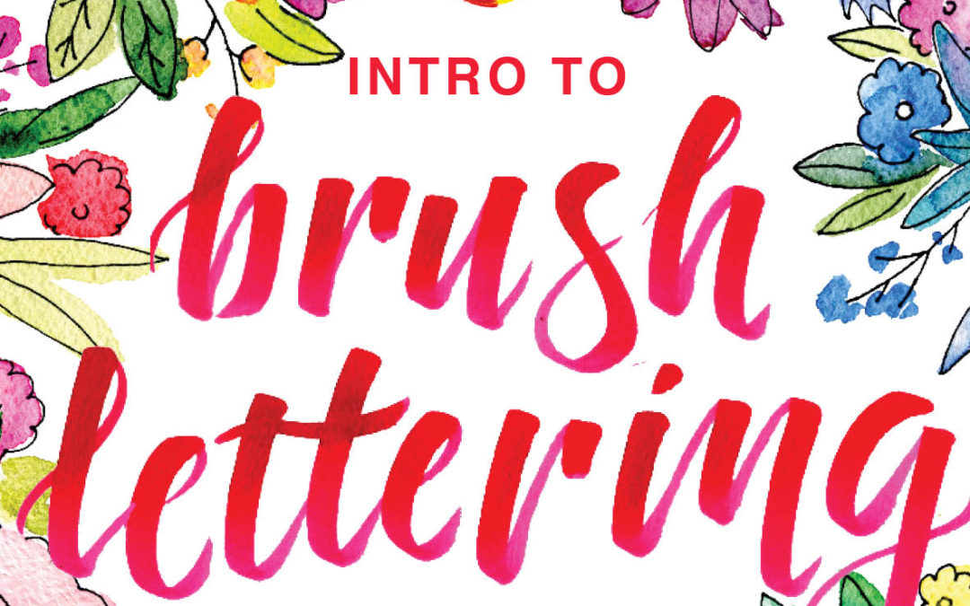 So you want to learn brush lettering?