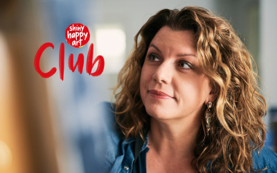 The new improved Shiny Happy Club will get you painting!