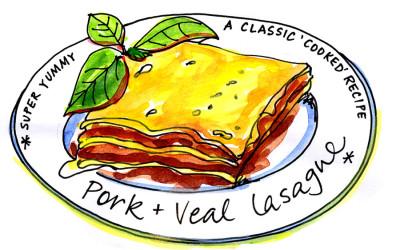Classic 'Cooked' Lasagne – Illustrated Recipe