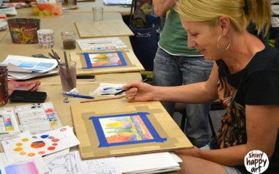 Watercolour Wonder Workshop