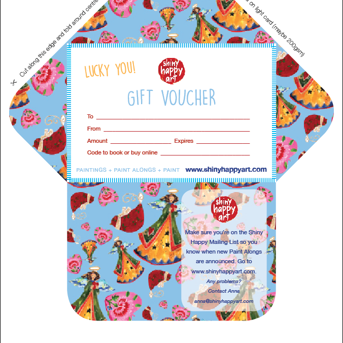 New Envelopes – for gift vouchers or anything you like
