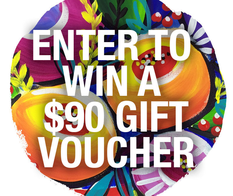 Win one of three $90 gift vouchers